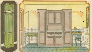 1930 Sears catalog--kitchen cabinets