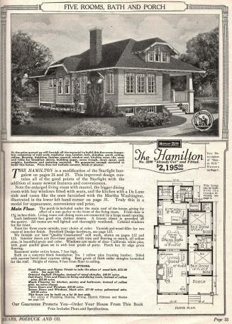 Sears catalog kit house
