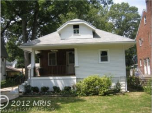 Kit house for sale in Takoma Park
