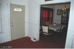 "Entry in 2012: Carpet, curtains and ""improved"" front door"
